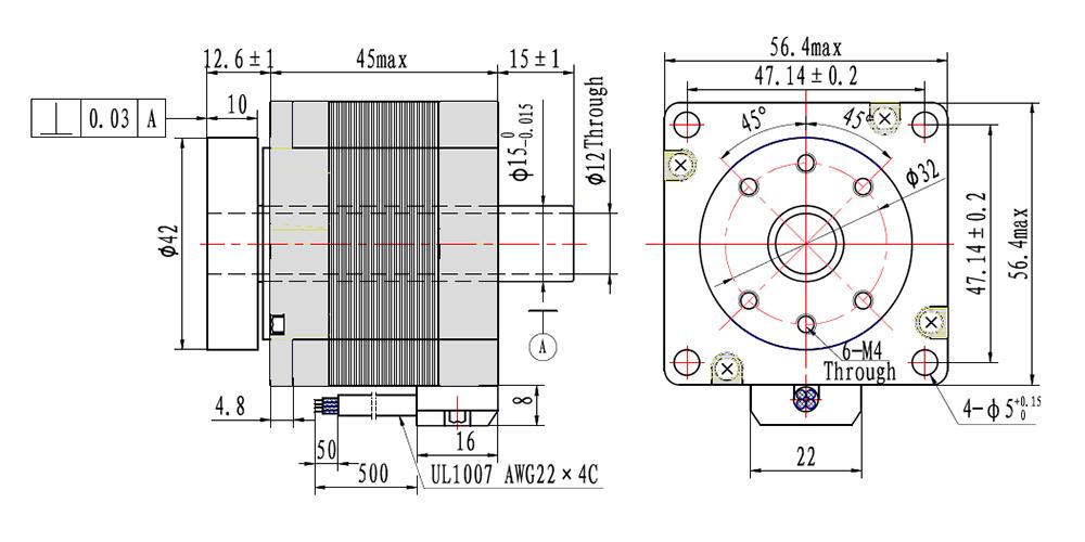 NEMA23 rotary table