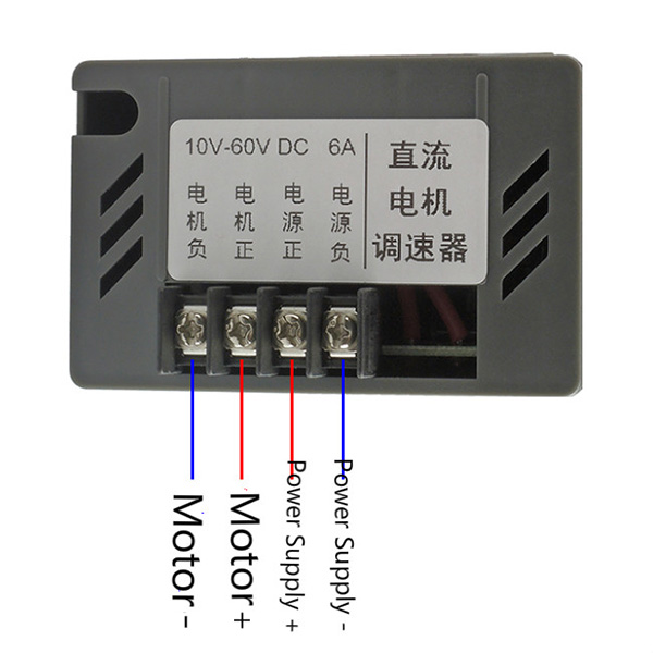 speed controller wiring