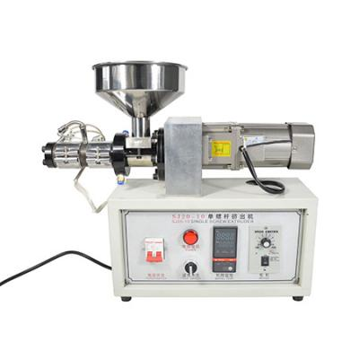 Desktop SJ15 or SJ20 single screw extruder