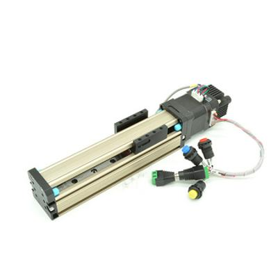 Compact stepper motorized linear stage with stepper controller