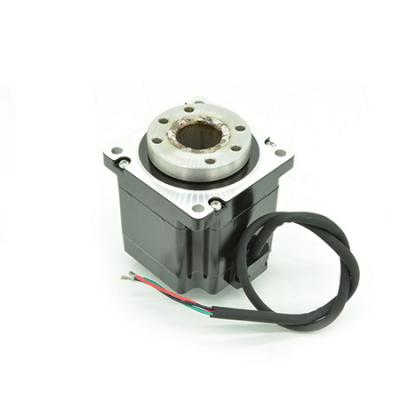 NEMA23 or NEMA34 hollow shaft stepper motor rotary index unit