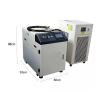 Handheld optic fiber laser welding machine