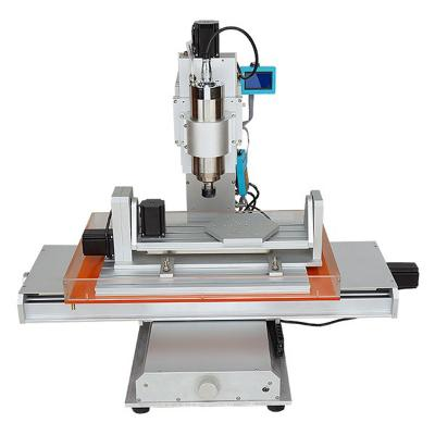 Vertical 5-axis 3040 or 6040 CNC milling machine