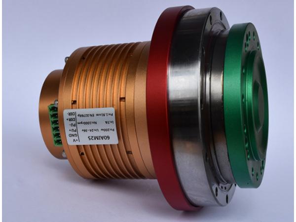 BLCD servo motor with harmonic reducer