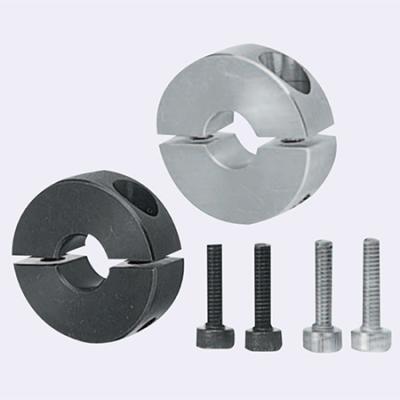 Dual split type with 2 clamp screws shaft collar