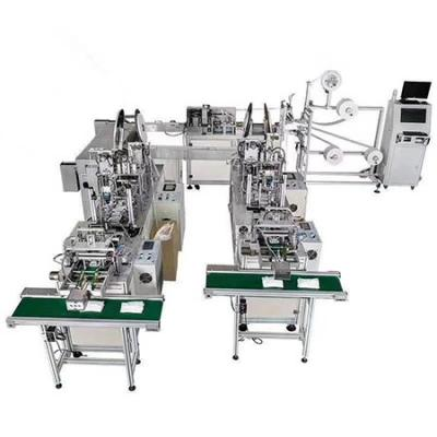 Nonwoven disposable mask making machine