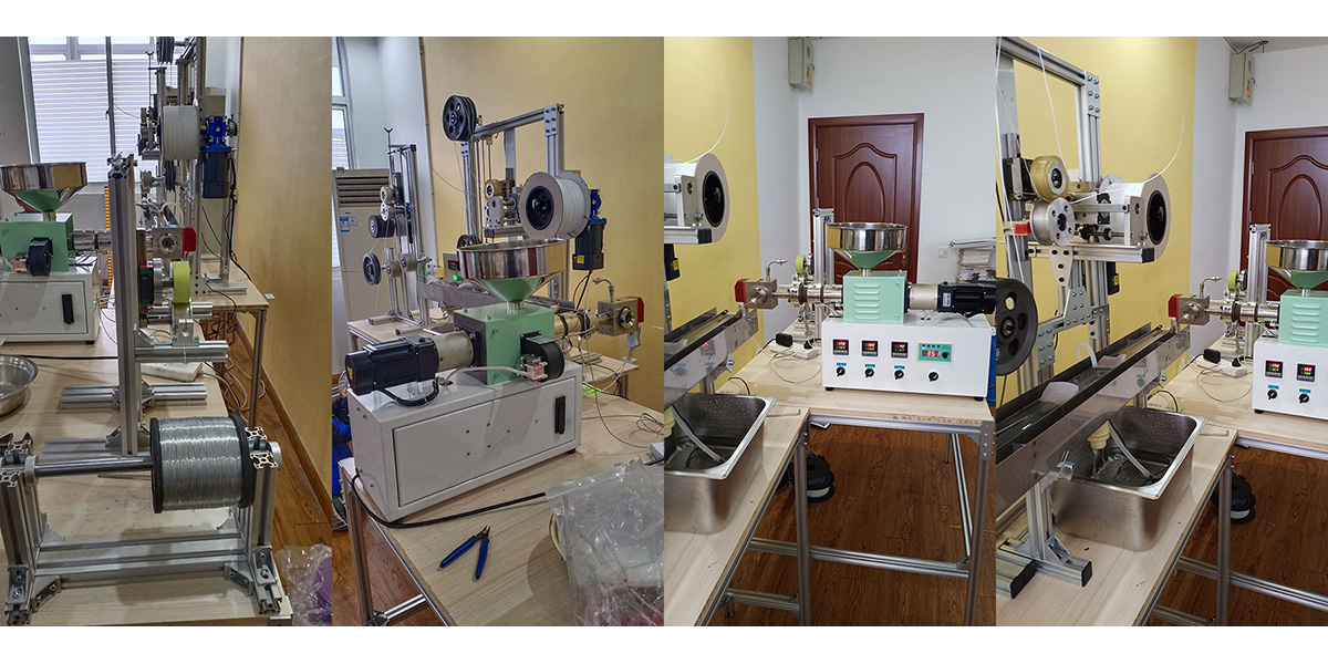 Face Mask Nose Wire Extrusion Line