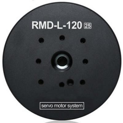 Dia 120mm BLDC Servo Motor with encoder n RS485 or CANOpen driver