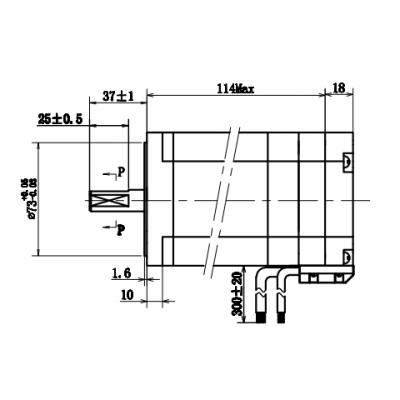 NEMA34 8Nm stepper motor with encoder servo stepper