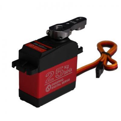 Brushed DC motor 25Kg Digital Servo for Ventilator
