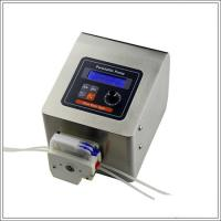 Multichannel micro flow high precision timing peristaltic pump