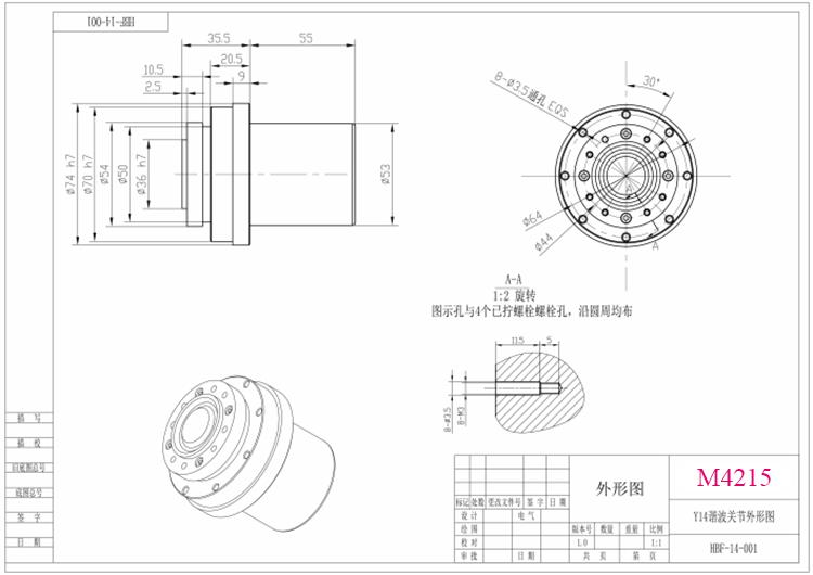 Harmonic Drive BLDC Motor