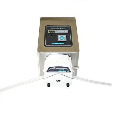Stepper motorized adjustable speed Peristaltic Pump YZ15 or YZ25
