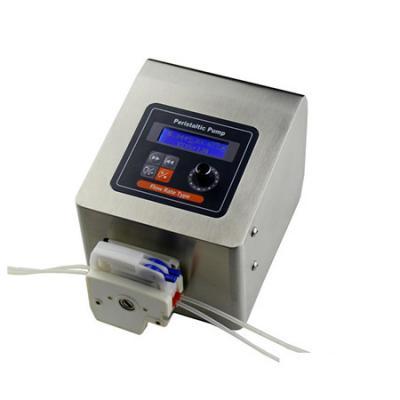 Extendable micro flow high precision peristaltic pump