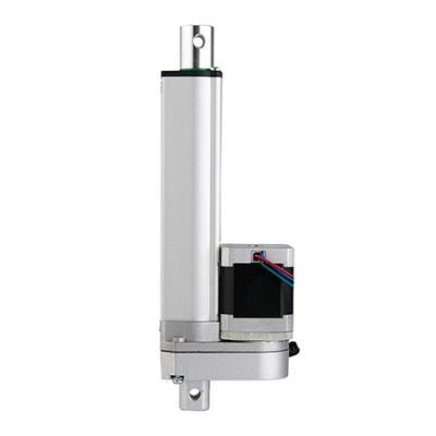 9-36VDC stepper motor gear drive linear actuator