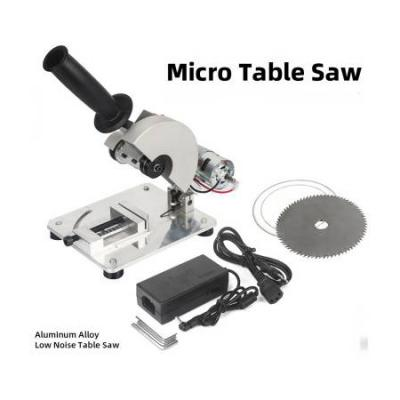 DIY Drill Micro Cutting Machine Mini Small Aluminum Alloy Table Saw Cutting