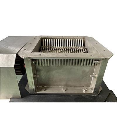 Shredder knife box or benchtop shredder for plastic or bones