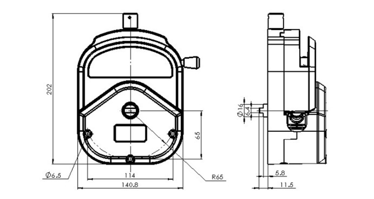 YZ35 Peristaltic Pump