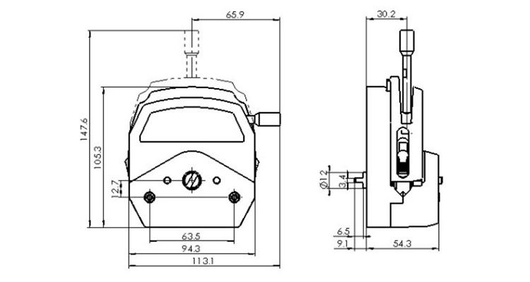 YZ25 Peristaltic Pump