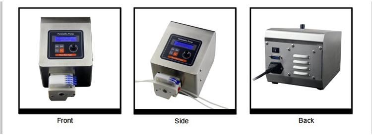 multi-channel micro peristaltic pump