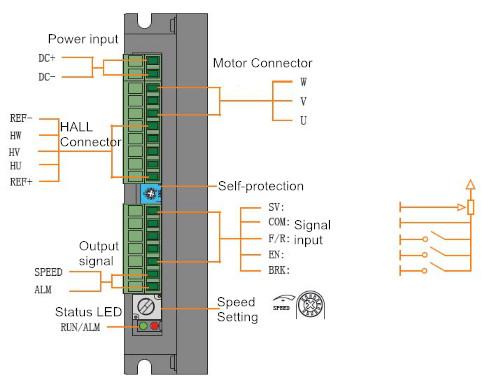 BLD-300B Wiring Diagram