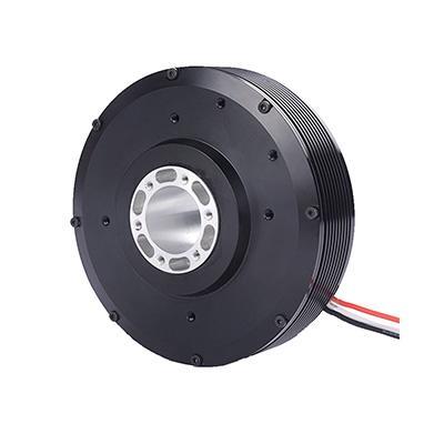 HT100 BLDC motor with 22mm hollow shaft pancake motor