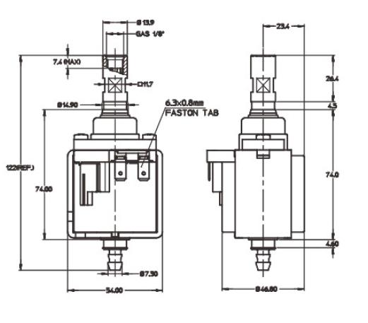 KP4 solenoid pump