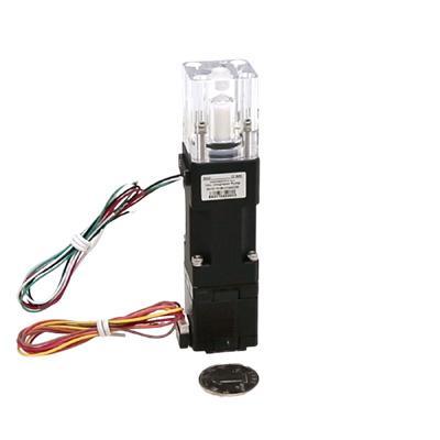 NEMA11 stepper motorized displacement piston pump