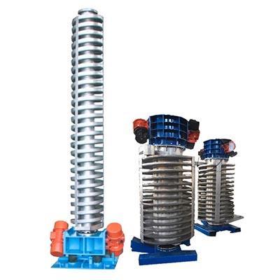 Spiral vibration elevator dryer conveyor