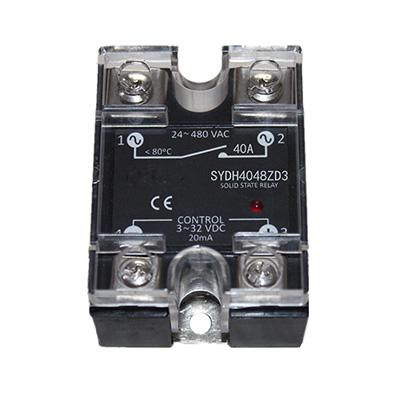 10A, 40A DC-AC or 15A AC-AC Solid-state Relay