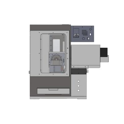 5 axis CNC milling machine V4 desktop with horizontal spindle