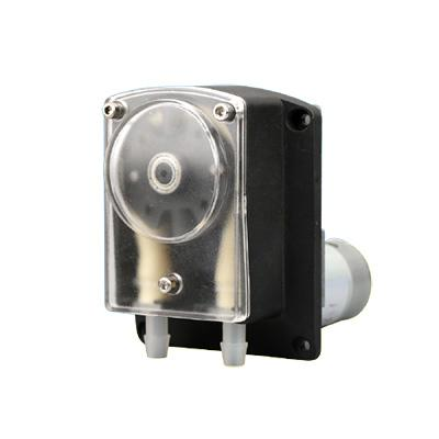 Large flow rate peristaltic pump DC Motor or Stepper