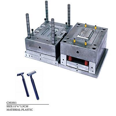 Disposable razor plastic parts mold 4 molds as 1 set