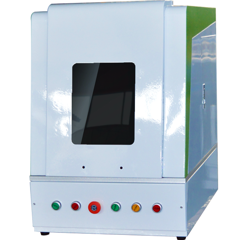 Laser Marking with Enclosure