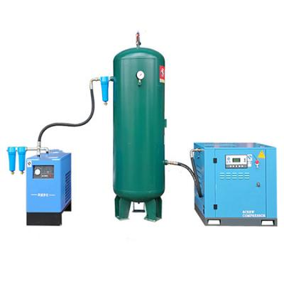Compressor with inverter motor and rotary screw 11KW or 15KW