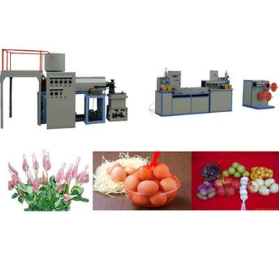 Plastic mesh sleeve or foam sleeve Extrusion production line