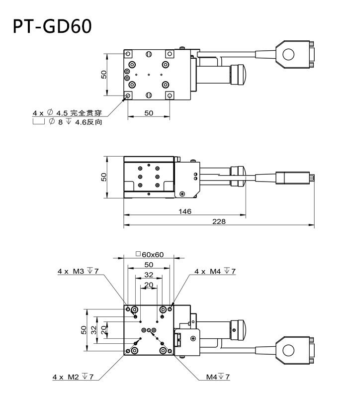 PT-GD60 lift platform