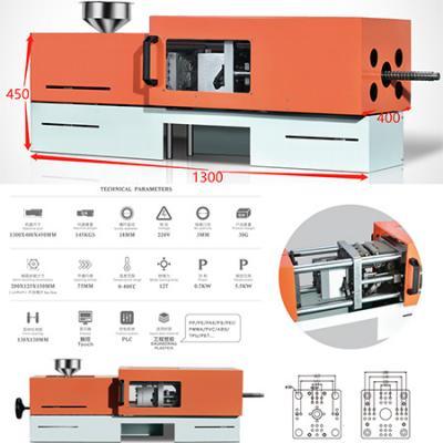 Desktop electrical injection molding machine
