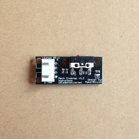 microswitch board for 3d printer