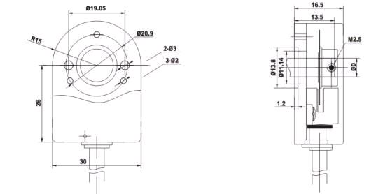 1000 Line Rotary Incremental Encoder Kit Robotdigg